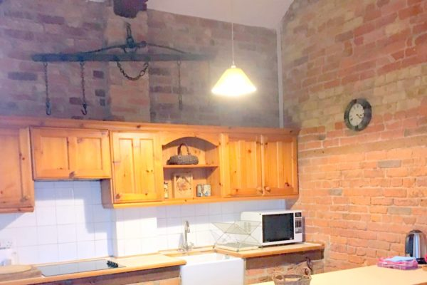 Corner of Stable kitchen